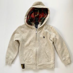 Polo Boys Zip Up Hoodie